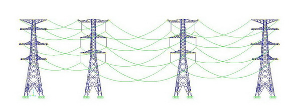 特高压输电线路塔—线体系结构关键技术研究-科研